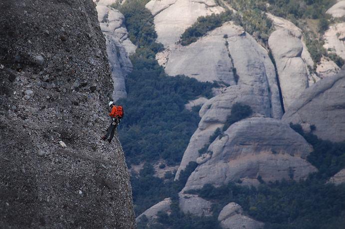 טיפוס הרים בהרי ממונסראט