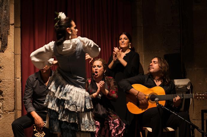 מופע פלאמנקו בברצלונה